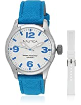 Blue Analog Watch