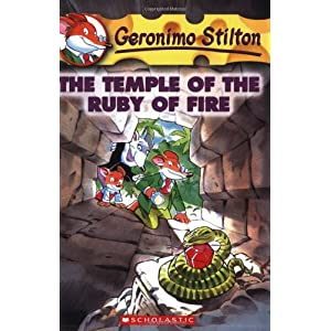 The Temple of the Ruby of Fire: 14 (Geronimo Stilton)