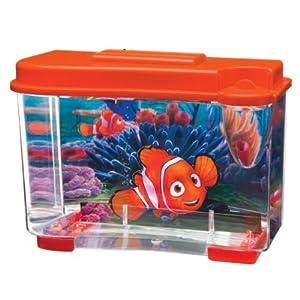 Penn Plax Finding Nemo 3D Aquarium Tank Kit: Give your home a cool azure look.