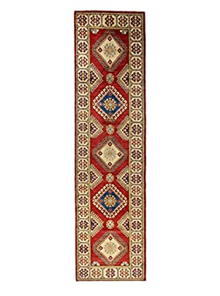 Bashian Rugs One-of-a-Kind Hand Knotted Paki Kazak Rug, Red, 2' 9