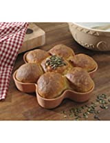 Brown Terracotta T and S Flower Baking Form (Flower Baking Form)