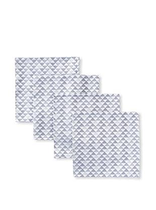 Garnier-Thiebaut Set of 4 Reflection Napkins (Metal)