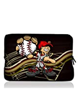 "Baseball Kid 7"" 7.2"" 7.7"" 7.9"" 8"" inch Touch Screen Tablet Case Sleeve Pouch Bag for Apple iPad mini Retina Display/Apple iPad Mini 2/ASUS MeMO Pad/Google Nexus 7/iView TV Pad/SupraPad/Acer Iconia One/LG G Pad/Ematic Touchscreen Tablet/HP Stream 7 /SAMSUNG Galaxy Tab 3/Trekstor Xiron 7/Ematic FunTab Kid Mode/DELL Venue 7"