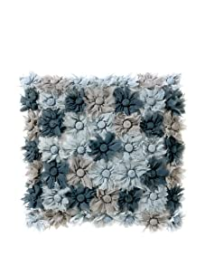 Aviva Stanoff Blossom Decorative Pillow (Dark Grey)