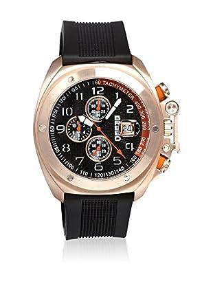 Breed Reloj con movimiento cuarzo japonés Brd4605 Negro 45  mm