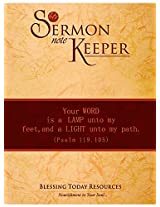 Sermon Note Keeper By Blessing Today Resources