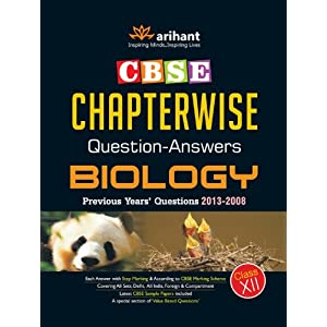 CBSE Chapterwise Questions-Answers BIOLOGY