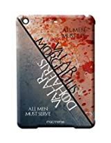 Serve and Die - Pro case for iPad 2/3/4