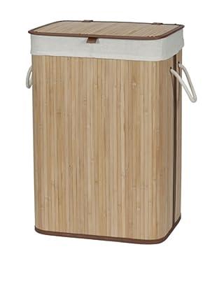 Creative Bath Bamboo Hamper, Natural