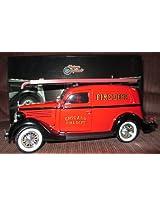 1935 Ford Chicago Fire Dept 1/24 Diecast Car Model