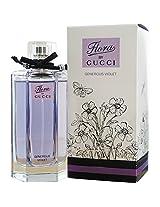 Flora Generous Violet by Gucci Eau de Toilette Spray 100ml