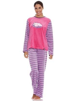 Blue Dreams Pijama Señora Tundosado (Cactus)
