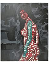 Liflad Artmart Acrylic and Canvas Painting (76 cm x 76 cm, LA28)