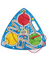 Hape Mesmerizing Magnetic Kid's Wooden Maze Puzzle