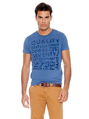 Pepe Jeans London Camiseta Yoxhall (Azul)