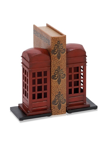 Industrial Chic Phonebooth Bookends