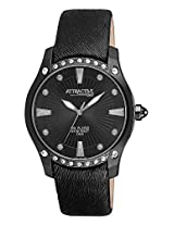 Q&Q Analog Black Dial Women's Watch - DA27J502Y