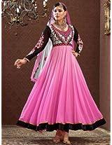 Triveni Faux Georgette Salwar Suit (TSHTXFNSK1014_Multi)