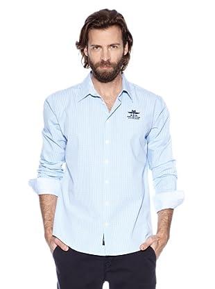 NZA New Zealand Auckland Camisa Básica Áulide (Azul Claro)