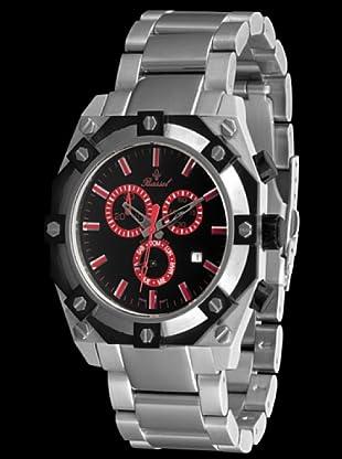 Bassel Reloj CR4030R de Acero negro / rojo