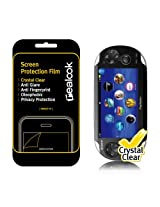 Realook Sony Ps Vita Screen Protector, Crystal Clear, Screen & Back