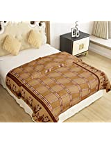 Home Candy Warm and Soft Comfortable Polyester Double Bed Blanket - Multicolor (NKM-BLN-128)