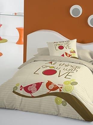 Juego de Funda Nórdica All Things Grow With Love (Multicolor)