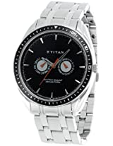 Titan Youth Analog Black Dial Men's Watch - NE1582KM02