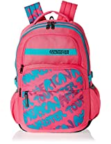 American Tourister Hoola 2016 27 Ltrs Hot Pink Casual Backpack (8901836128581)
