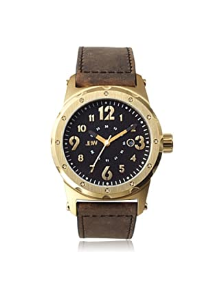 JBW Men's J6284D Brown/Black Stainless Steel Watch