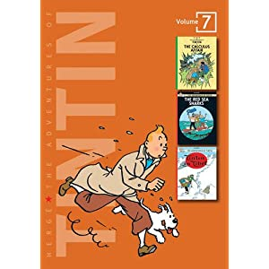 Adventures of Tintin - Vol. 7: The Calculus Affair, The Red Sea Sharks & Tintin in Tibet (The Adventures of Tintin - Compact Editions)