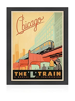 American Flat Chicago L Train
