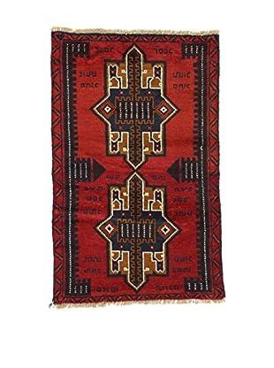 Eden Teppich Beluc rot 85 x 134 cm