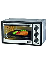 AMERICAN MICRONIC - 14 Liters Oven Toaster Griller (OTG), FREE Delivery, 230V AC, 1200W, 60 Minutes timer, Variable temperature control. FREE Baking Tray - 100% Imported with India Warranty- AMI-OTG-14LDx