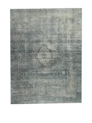 Design Community by Loomier Alfombra Revive Vintage Azul 360 x 269 cm