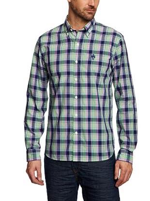 Brooks Brothers Camisa Owain (Azul)