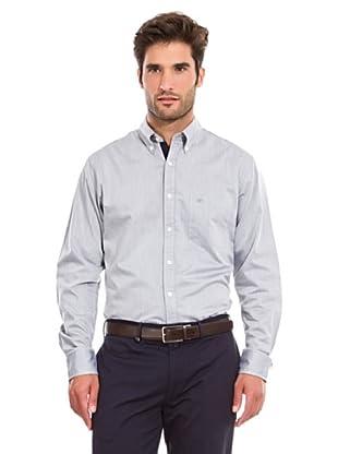 Pedro del Hierro Camisa Lisa (Gris Oscuro)