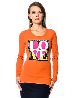 Love Moschino Longsleeve (Orange)