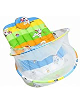 Nina Baby Bedding with mosquito net- Happy day Print - Large