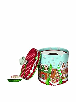 Punch Studio Set of 3 Toilet Tissue Holders (Gingerbread Houses)