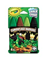 Crayola Build Your Box Camouflage Barrage Chalk (4 Count)