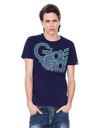 Gio Goi Camiseta Titche (azul marino)