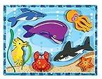 Melissa & Doug 3728 Sea Creatures Chunky Puzzle
