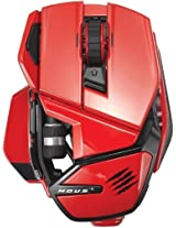 Mad Catz M.O.U.S. 9 Wireless Mouse for PC, Mac, and Mobile Devices