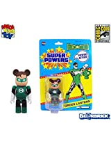 Medicom Sdcc Comic Con Exclusive Green Lantern 100% Be@Rbrick Bearbrick Limited 1500