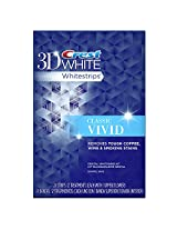 Crest 3d White Vivid Teeth Whitening Strips 12 Count