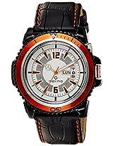 Maxima Hybrid Analog White Dial Men's Watch - 31232LPGW