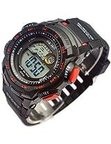 Men's Electronic Watch Resin Waterproof Sport Watches Pm148-y