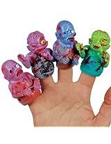 Loftus Dc 0298 Zombie Finger Puppet, 48 Pieces Per Display
