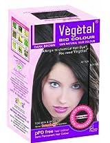 Vegetal bio colour - Dark Brown 50 gm x 3